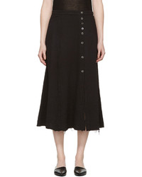Falda negra de Raquel Allegra