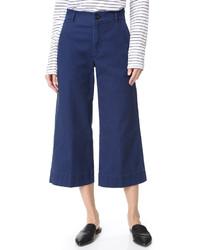 Falda pantalón azul marino de Madewell