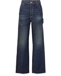 Falda pantalón azul marino de MM6 MAISON MARGIELA