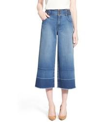 Falda pantalón azul