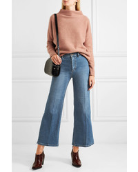 Falda pantalón azul de Vince