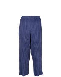 Falda pantalón azul de Issey Miyake Vintage