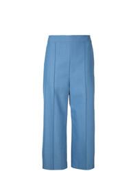Falda pantalón azul de Macgraw