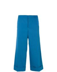 Falda pantalón azul de Marni