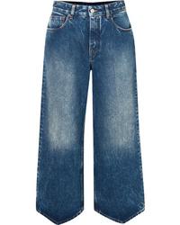 Falda pantalón azul de MM6 MAISON MARGIELA