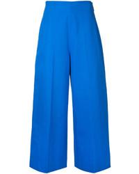 Falda pantalón azul de MSGM