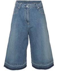 Falda pantalón azul de Sacai