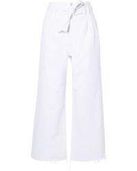 Falda pantalón blanca de J Brand