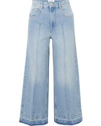 Falda pantalón celeste de Isabel Marant Etoile