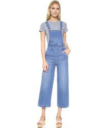 Falda pantalón celeste de Madewell