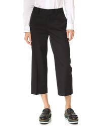 Falda pantalón de lana negra de Dsquared2