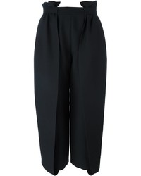 4d883cd5fb Comprar una falda pantalón de seda negra  elegir faldas pantalón de ...