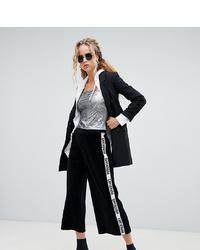 Falda pantalón en negro y blanco de Dr. Denim