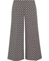 Falda pantalón estampada negra de MICHAEL Michael Kors