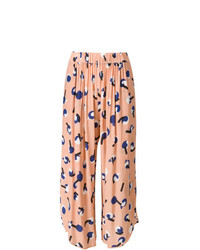 Falda pantalón estampada rosada de Henrik Vibskov