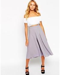 Falda pantalón gris de Love