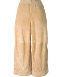 Falda pantalón marrón claro de Dsquared2