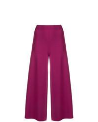 Falda pantalón morado