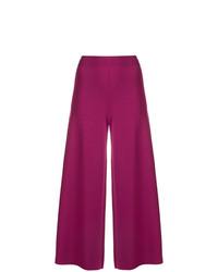 Falda pantalón morado de Theory