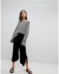 Falda pantalón negra de ASOS DESIGN
