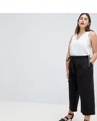 Falda pantalón negra de Asos