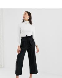 Falda pantalón negra de Asos Tall