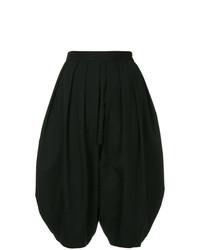 Falda pantalón negra de Comme Des Garçons Vintage