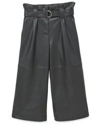 Falda Pantalón Negra de Mango