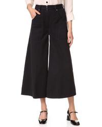 Falda pantalón negra de Marc Jacobs