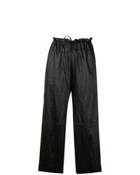 Falda pantalón negra de MM6 MAISON MARGIELA