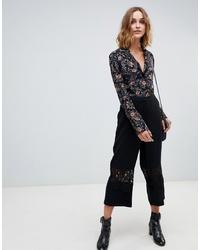 Falda pantalón negra de Vero Moda
