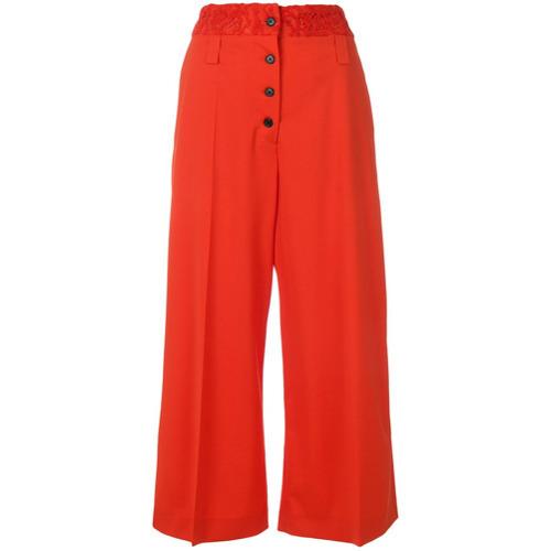 9d6f6929e €446, Falda pantalón roja de Proenza Schouler