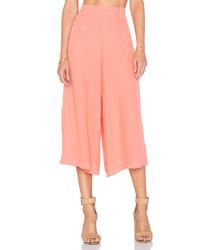 Falda pantalón rosada
