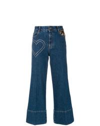 Falda pantalón vaquera azul marino de Stella McCartney