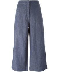 Falda pantalón vaquera azul de Dagmar