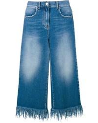 Falda pantalón vaquera azul de MSGM