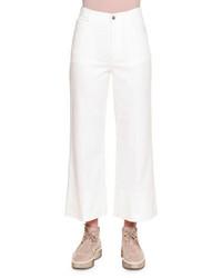 Falda pantalón vaquera blanca