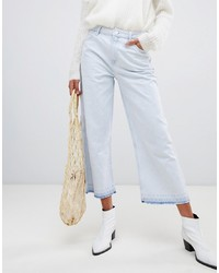 Falda pantalón vaquera celeste de Pepe Jeans