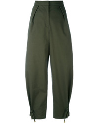 Falda pantalón verde oliva de Kenzo
