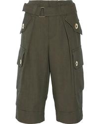 Falda pantalón verde oliva de Marc Jacobs