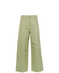 Falda pantalón verde oliva de Nk