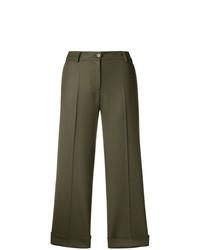 Falda pantalón verde oliva de P.A.R.O.S.H.