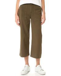 Falda pantalón verde oliva de Rag & Bone