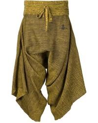 Falda pantalón verde oliva de Vivienne Westwood