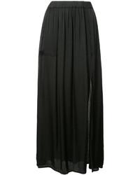 Falda plisada negra de Raquel Allegra