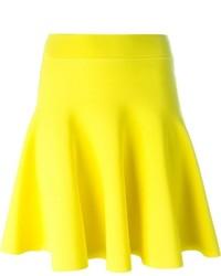 Falda skater amarilla de P.A.R.O.S.H.