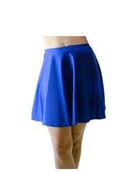 Falda skater azul original 1481379
