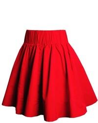 Resultado de imagen para faldas de vestir rojas