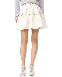 Falda vaquera blanca de Kenzo