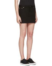 ... Falda vaquera negra de Givenchy 2bdc09272722